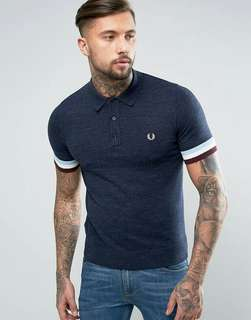 New Authentic Fred Perry Polo Shirt. P450, Sizes: S to XL