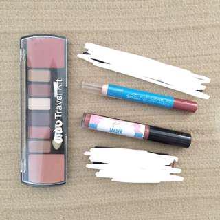 Makeup Bundle Eyeshadow Blush Lipstick