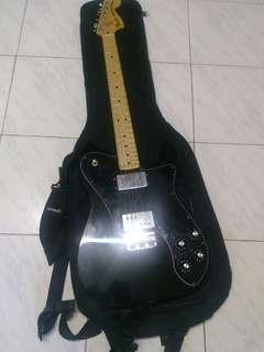Fender Telecaster Deluxe 72 in Black for sale