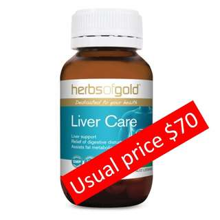 Offer a price within your budget as i won in a lucky draw no use for it. Herbs of gold liver care medicine / tonic (usual price $70)