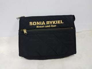 SONIA RYKIEL QUILTED POUCH