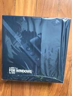 a-JAYS Five for Windows by JAYS Black BNIB Sealed