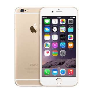 IPhone 6 16 GB Gold color