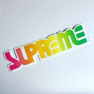 Supreme OG Surf Style Sticker