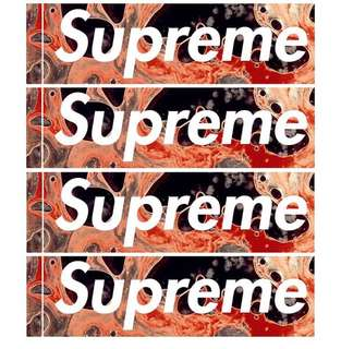 Supreme Serrano Sticker