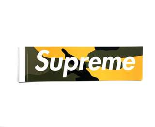Supreme Brooklyn Sticker