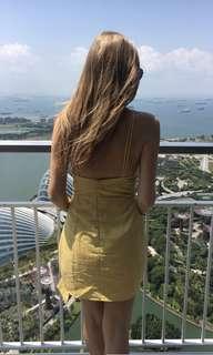 Sabo Skirt Yellow Dress