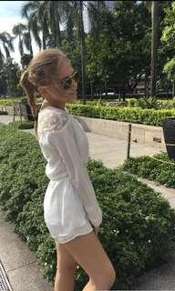 Sabo Skirt White Romper