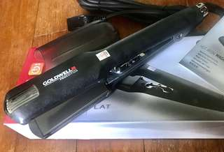 Goldwell Pro Edition Magic Flat Iron / Styler / Straightener / Curler (Size L) BNIB + Mini FREE Gift