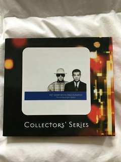 Pet Shop Boys Discography Box Set Singapore Edition