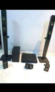 Philip 5 in 1 audio system