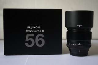 FUJINON XF 56mm F1.2 R Like New EX. FFID