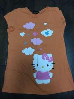 Large Hello Kitty tshirt