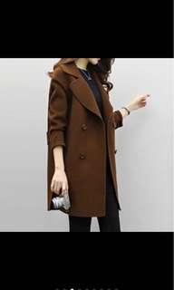 Coat 3/4 sleeve