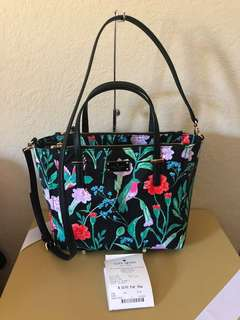 Authentic KATE SPADE FLORAL BAG
