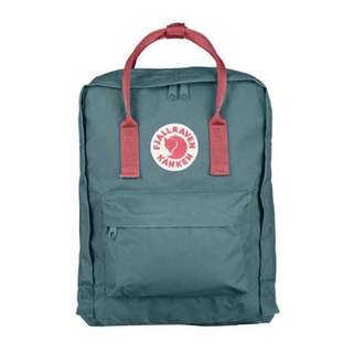 [INSTOCK] FJALLRAVEN KANKEN CLASSIC BACKPACK (FROST GREEN/PEACH PINK)