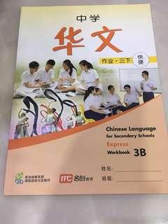 Sec 3 Chinese Workbook