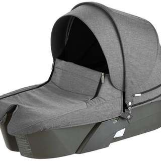Stokke Xplory Newborn Carry Cot Charcoal