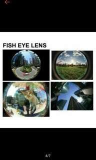 Multipurpose 3in1 clip lens
