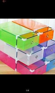 Colorful Shoe box