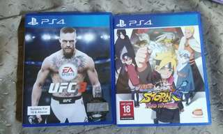 ps4 cd game.. 2 pcs (rm400)