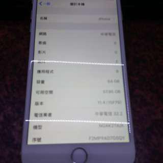 iphone6 plus. 64g可換安卓手機