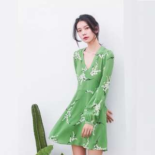 (PO) Anisa Floral Flare Dress