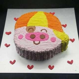 麥兜蛋糕一磅