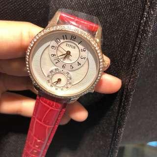 最後1隻🔥清貨鐵達時女裝腕錶💕送禮之選