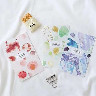 (PO) The Spectrum of Colors Postcards/ Post Cards