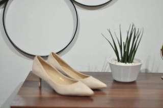 Parisian Cream Suede Shoes