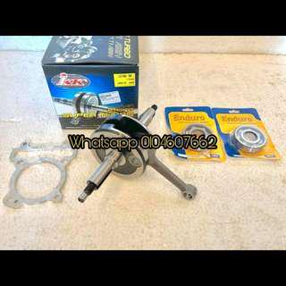 Crankshaft JACK 6MM Y15/Lc 5s JACK