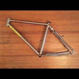 Litespeed Unicoi Titanium mountain bike softail frame