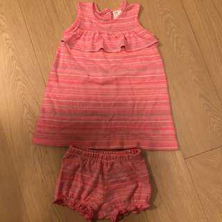 (包郵) 全新H&M 女童背心裙80碼