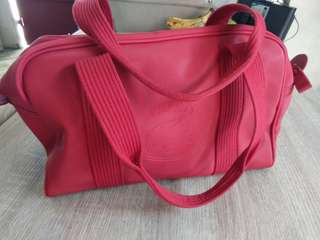 Lacoste red sport bags 💖💖😀😘😘