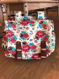 BASIL Bloom bicycle double bag