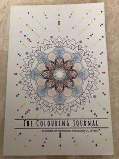 The Colouring Journal: 30 Doses of Sunshine *Brand New*