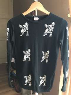 Knitted Doggies Black