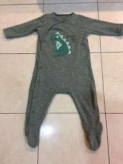 Next UK Baby Sleepsuit