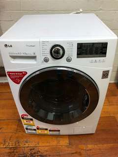 LG 8.5kg/4.5kg Washer Dryer Washing Machine