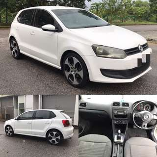 SAMBUNG BAYAR / CONTINUE LOAN  VW POLO 1.2CC TURBO TAHUN 2010/2011