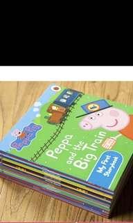 Peppa pig English book (17 titles)