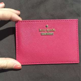 Kate Spade pink card holder (NETT PRICE)