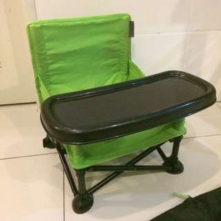 Pop n' sit portable booster seat