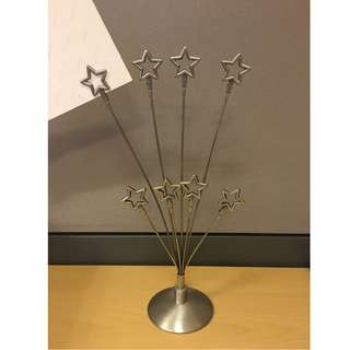 star adjustable picture or note holder
