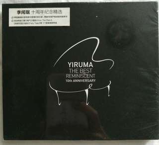 [Music Empire] Yiruma - The Best Reminiscent 10th Anniversary CD Album