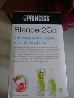 全新(New) Princess Blender 2Go 攪拌器 Mixer