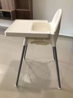 IKEA Antilop High Chair with Tray