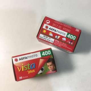 🚚 兩個愛克發AGFA 400度彩色底片