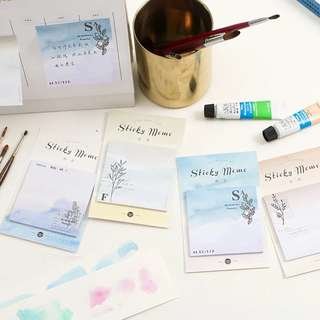 (PO) Graded Wash Sticky Notes/ Post-its